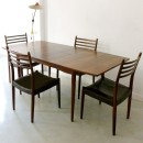50s Danish Palisader dining table