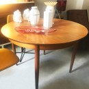 60's Danish round dining table